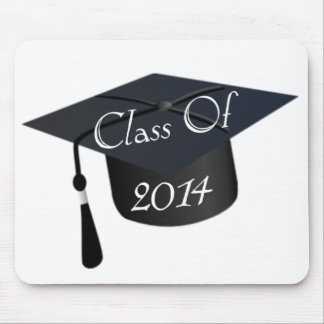 Klasse von Abschluss-Kappe 2014 Mousepad