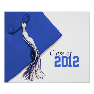 Klasse von Abschluss-Plakat 2012