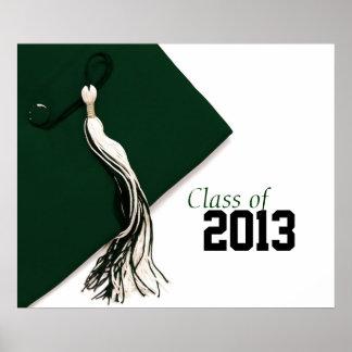 Klasse von Abschluss-Plakat 2013 Poster