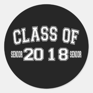 Klasse von Aufkleber 2018