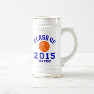 Klasse von Basketball 2015 Bierglas