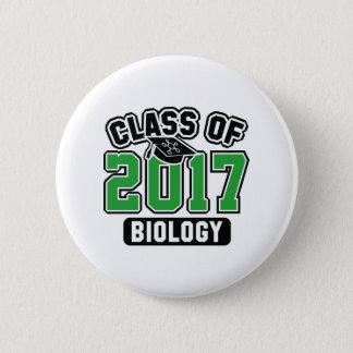 Klasse von Biologie 2017 Runder Button 5,7 Cm