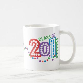 Klasse von Feier 2011 Kaffeetasse