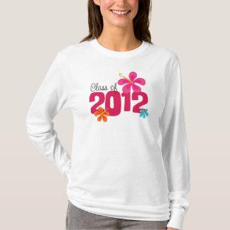 Klasse von Hibiskus-Abschluss 2012 T-Shirt
