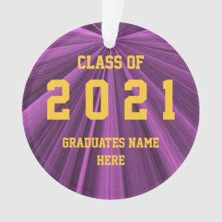 Klasse von Kastanienbraun 2021 und von Ornament