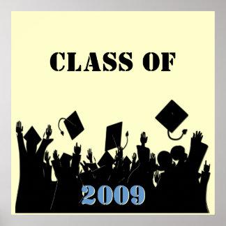 Klasse von Plakat 2009 wählen Sie BkGrd/Jahr/Farbe