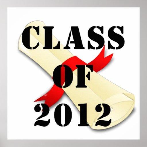 Klasse von Plakat 2012