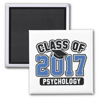 Klasse von Psychologie 2017 Quadratischer Magnet