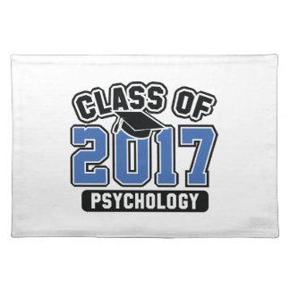 Klasse von Psychologie 2017 Stofftischset