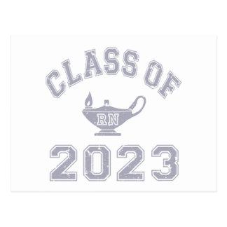 Klasse von RN 2023 (ausgebildete Krankenschwester) Postkarte