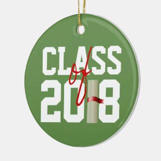 KLASSE von Weihnachtsverzierung 2018 Keramik Ornament