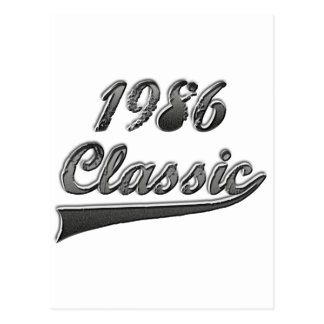 Klassiker 1986 postkarte