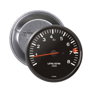 Klassiker 911 rev entgegengesetzt (altes runder button 5,1 cm