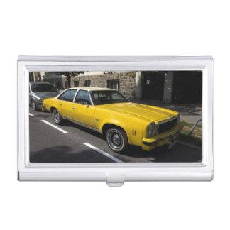 Klassiker Chevrolets Malibu Visitenkarten Etui
