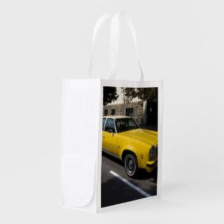 Klassiker Chevrolets Malibu Wiederverwendbare Einkaufstasche
