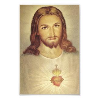 Klassiker-heiliges Herz des Jesus-Foto-Druckes Photo Drucke
