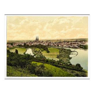 Klassiker Photochrom Regensburgs, Bayern, Postkarte