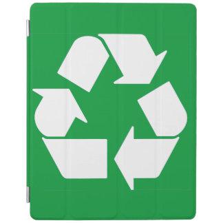 Klassiker recycelnd, recyceln Sie Symbol iPad Hülle