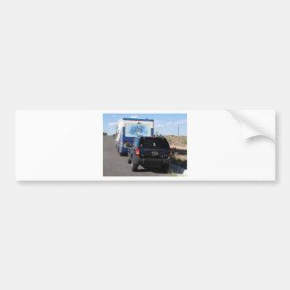 Klassiker RV Motorhome der Safari-Wanderungs-1999 Autoaufkleber