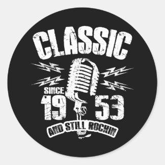 Klassiker seit 1953 und noch Rockin Runder Aufkleber