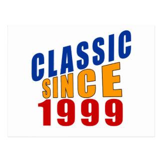 Klassiker seit 1999 postkarte