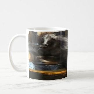 """klassisch, weiß, 11"""" Tassengewohnheit, volle Kaffeetasse"""