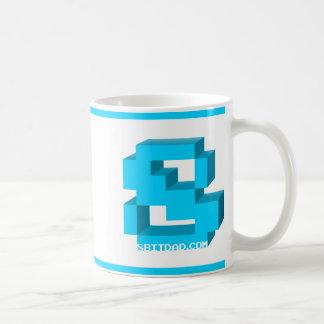 Klassische 8-BitTasse Kaffeetasse