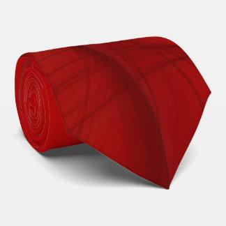 Klassische abstrakte elegante rote/schwarze krawatte