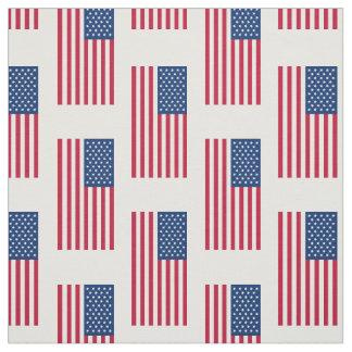 Klassische amerikanische Flagge Stoff