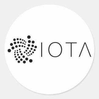Klassische Aufkleber Iotas (Blatt von 20)