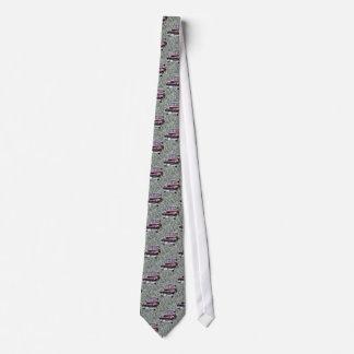 Klassische Auto-Bindung Bedruckte Krawatte