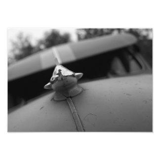 Klassische Auto-Fotografie, Schwarzweiss Photo Druck