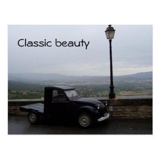 Klassische Autopostkarte Postkarte
