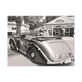 Klassische Autos bei Saratoga Galerie Falt Leinwand