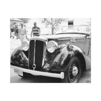 Klassische Autos bei Saratoga Galerie Faltleinwand