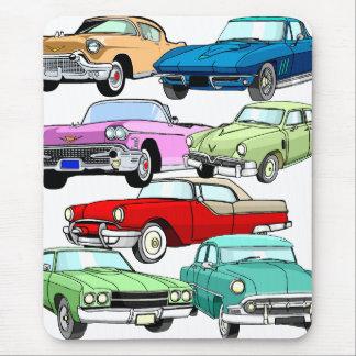 Klassische Autos Mousepad
