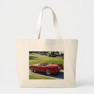 klassische Autos Leinentasche