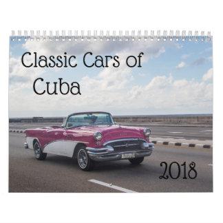 Klassische Autos von Kuba Kalender