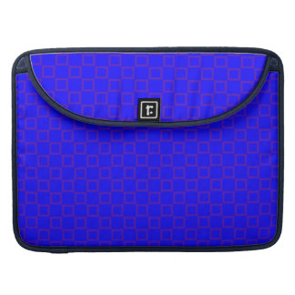 Klassische blaue lila Rickshaw-Klappen-Hülse Sleeve Für MacBooks