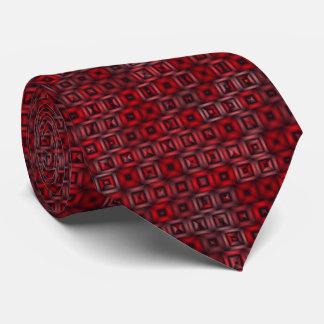 klassische Blöcke, rot Krawatten