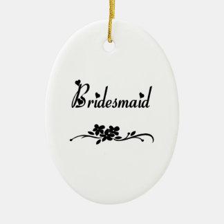 Klassische Brautjungfer Keramik Ornament