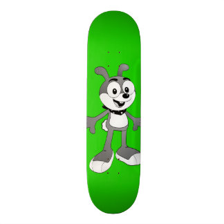 Klassische Bunny™ Marken-Grün-Skateboard-Plattform 18,1 Cm Old School Skateboard Deck