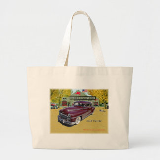 Klassische Cruisin Autos Desoto 1948 Einkaufstaschen