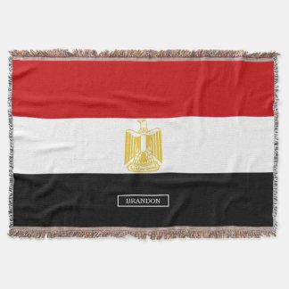Klassische Flagge von Ägypten Decke