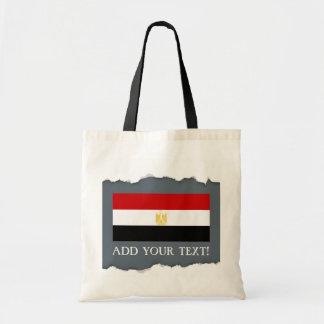 Klassische Flagge von Ägypten Tragetasche