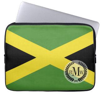 Klassische Flagge von Jamaika Laptopschutzhülle