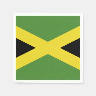 Klassische Flagge von Jamaika Papierserviette