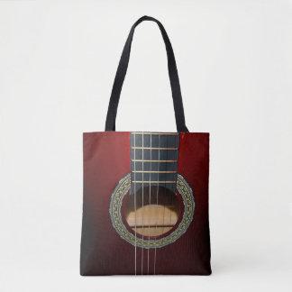 Klassische Gitarre Browns, volle Tasche