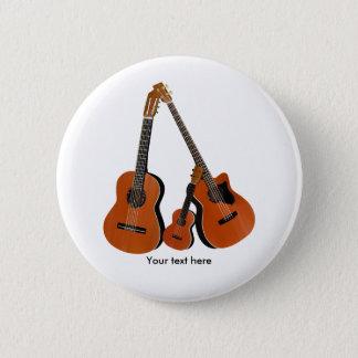 Klassische Gitarreakustischer Baß und Ukulele Runder Button 5,7 Cm