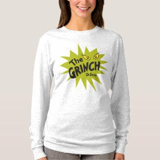 Klassische Grinch | grüne Sternexplosion T-Shirt